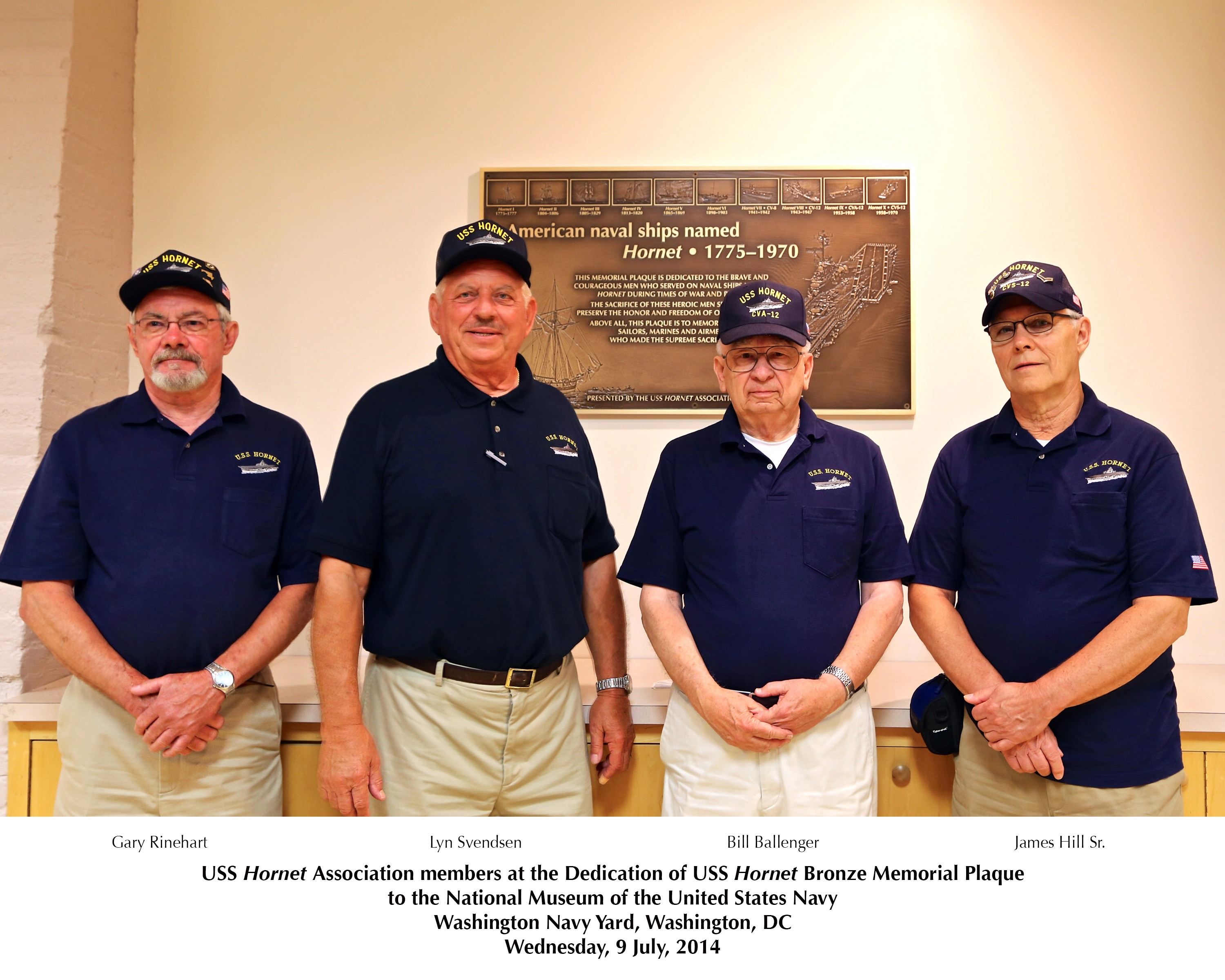 Members of USS Hornet Association